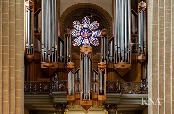Orgel im Paderborner Dom - Mediendatenbank