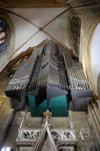 Orgel im Regensburger Dom - Mediendatenbank